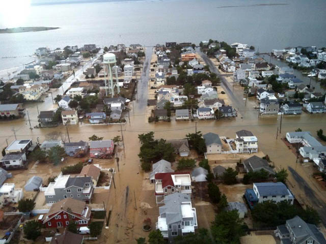 hurricane sandy LBI damage photos