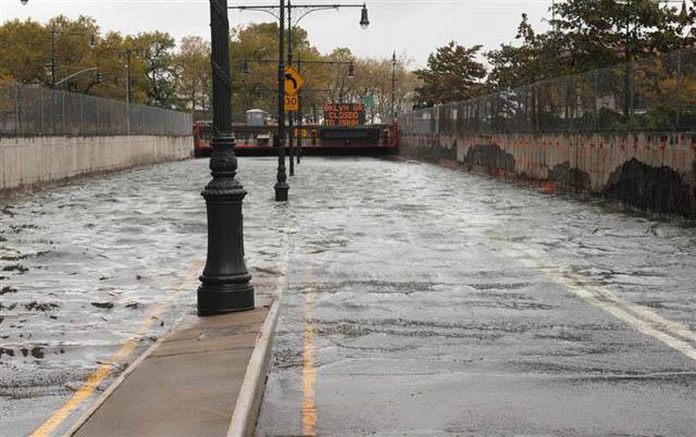 Brooklyn Battery Tunnel flood hurricane sandy
