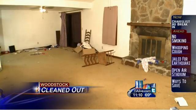 The Vercher Family's House Ransacked