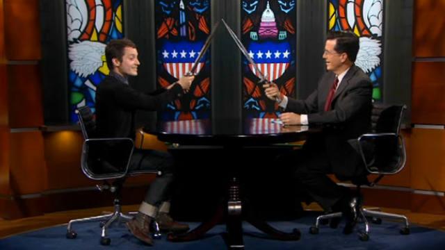 Stephen Colbert, Peter Jackson, The Hobbit