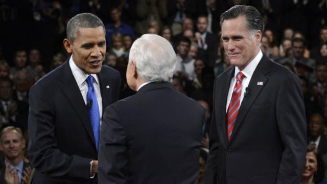 Barack Obama, Mitt Romney, Third Debate, Presidential election 2012