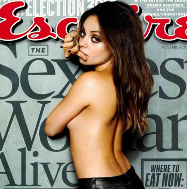 Mila Kunis, Esquire Magazine, Sexiest Woman Alive