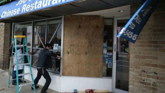 Hurricane Sandy, evacuation orders
