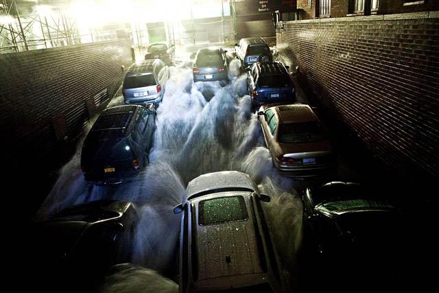 financial district flooding hurricane sandy nyc photos