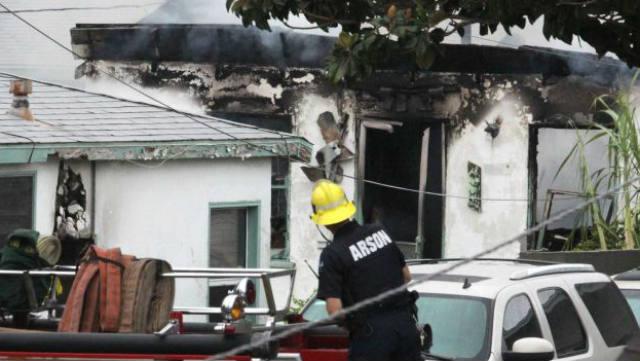 Inglewood, shootings, fire, Desmond Jones, family shot