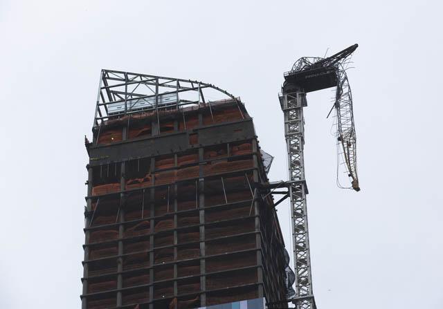 global billionaires club crane collapse NYC hurricane sandy