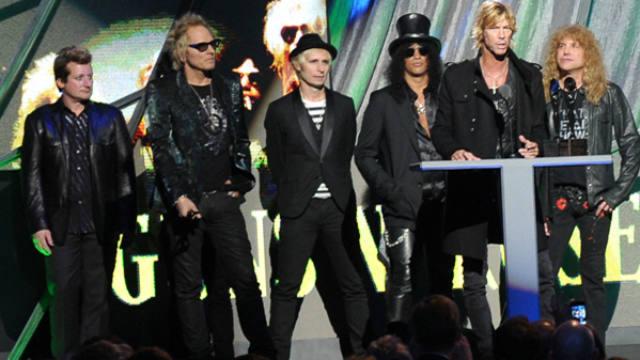 Axl Rose, Jimmy Kimmel, Interview, Guns N' Roses