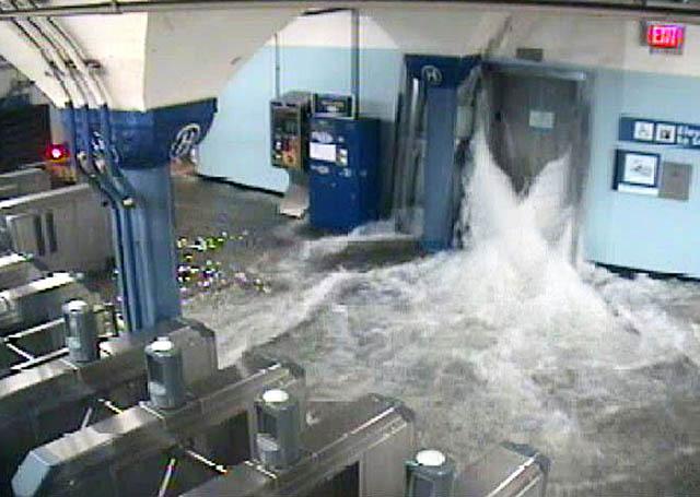 Hoboken PATH train station hurricane sandy NJ Jersey Shore