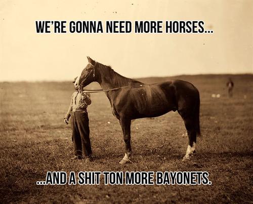 horses and bayonets meme 20