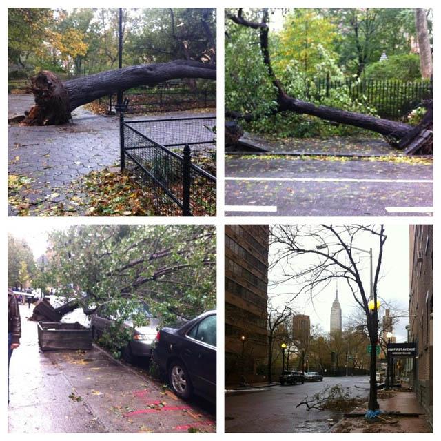 Lower East Side hurricane sandy nyc photos