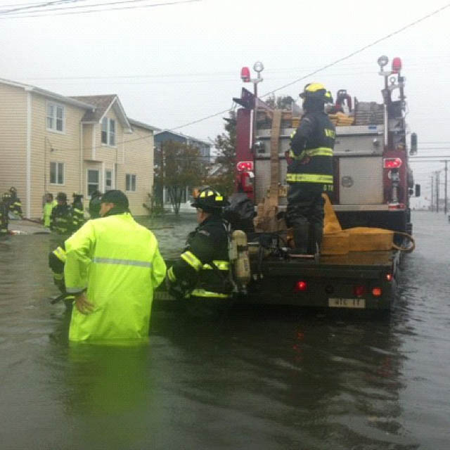 north wildwood flooding hurricane sandy NJ photos Jersey Shore