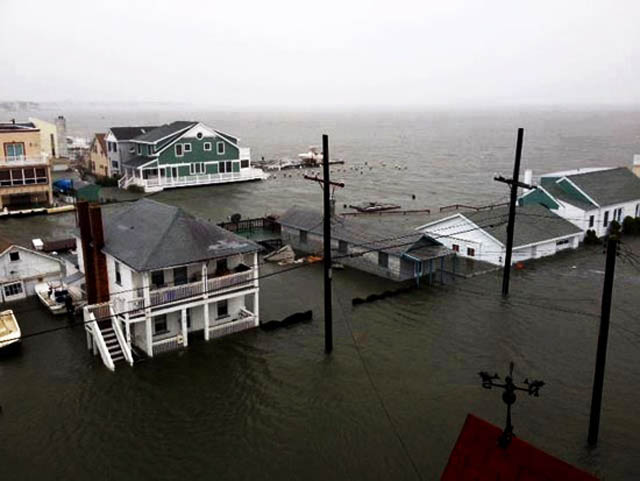 hurricane sandy NJ photos Jersey Shore Ocean City