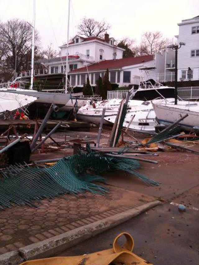 hurricane sandy NJ photos Jersey Shore Perth Amboy