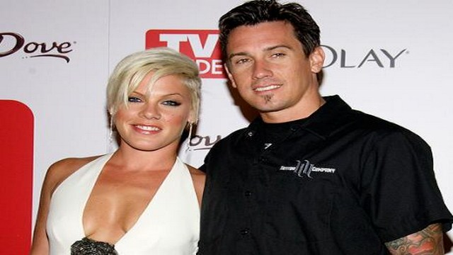 Pink and Husband Carey Hart