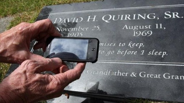 High-Tech Tombstones