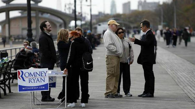 Barack Obama, Mitt Romney, Presidential Race, Hurricane Sandy