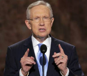Harry Reid, U.S. Senate, Car accident