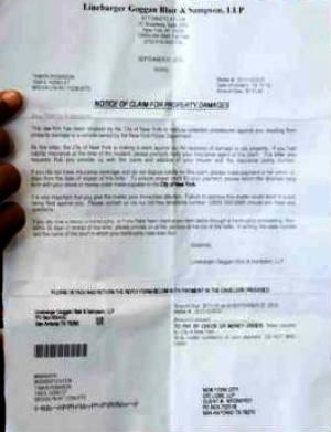 NYPD, New York City, car repair, family billed