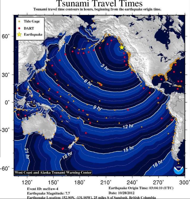 tsunami, earthquake, tsunami warning