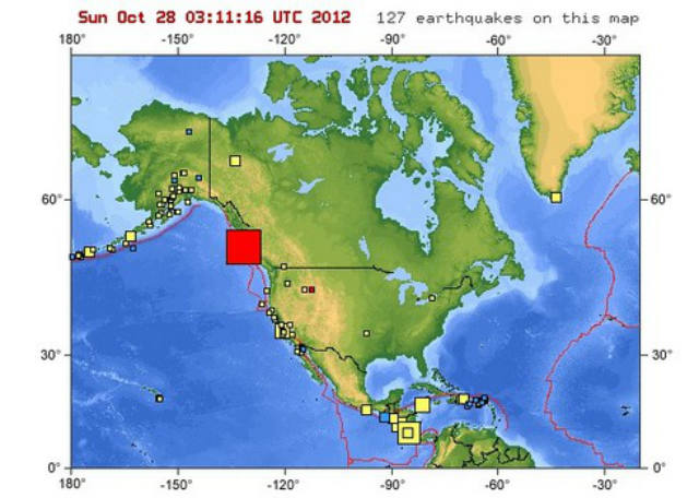 Tsunami, earthquake, Canada, West Coast