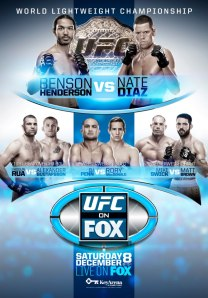 ufc on fox 5 poster