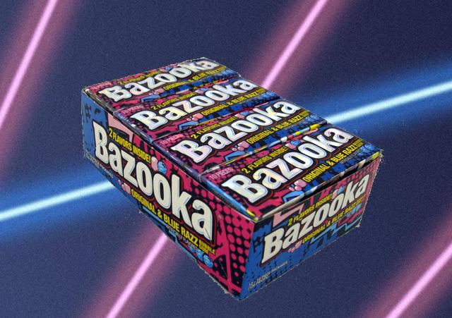 bazooka joe new packaging