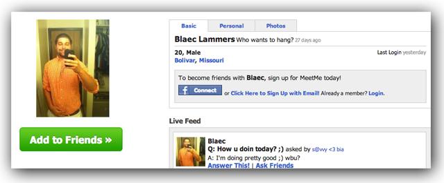 blaec lammers dating profile