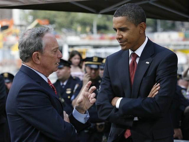 bloomberg endorses obama hurricane sandy
