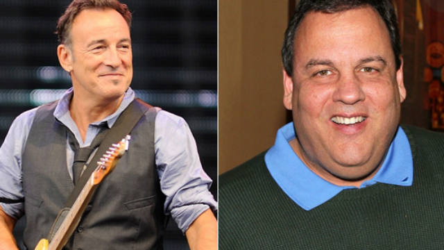 Bruce Springsteen, Gov. Chris Christie, President Barack Obama, Hurricane Sandy, New Jersey