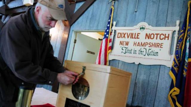 Dixville Notch, Hart's Location, Election 2012, Barack Obama, Mitt Romney, voting