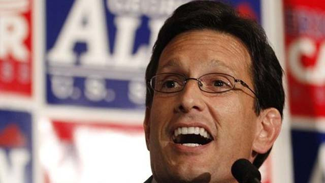 House Majority Leader Eric Cantor.
