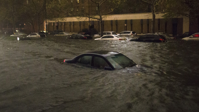 bloomberg endorses obama hurricane sandy climate change