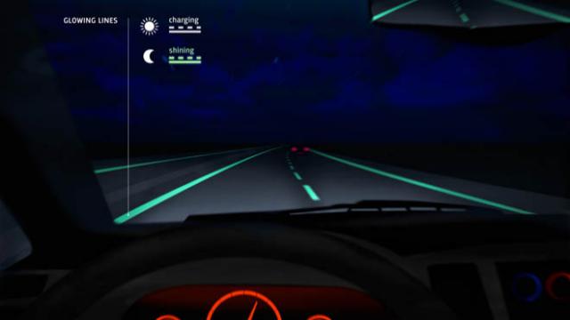 Glow-in-the-Dark Highways
