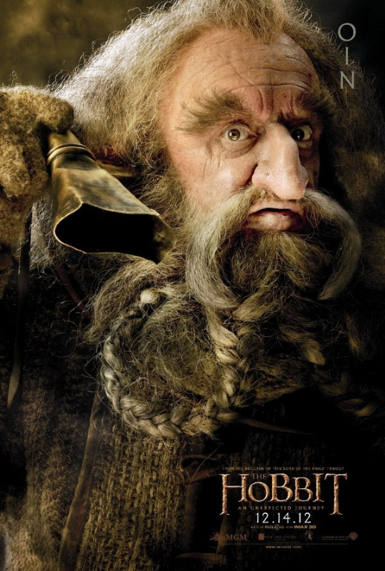 hobbit movie character poster oin