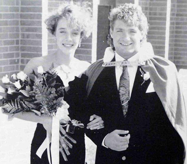 Paula broadwell homecoming queen Mike McCormick
