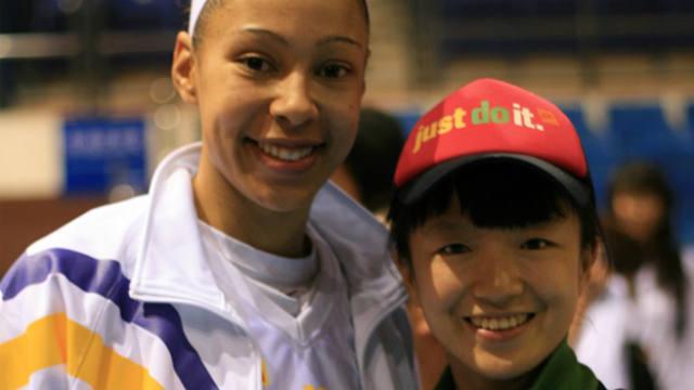 Jennifer Lacy, Chamique Holdsclaw, WNBA, attack