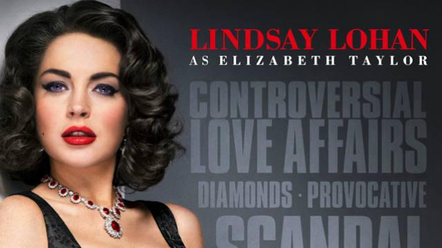 Lindsay Lohan, Liz and Dick, Elizabeth Taylor, Lifetime Network, Lifetime Network movie, television, Twitter