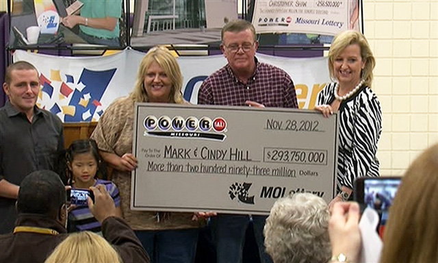 powerball winners mark and cindy hill
