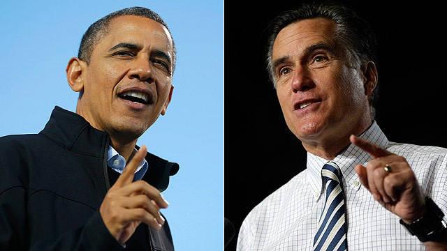 President Barack Obama, Mitt Romney, Election 2012