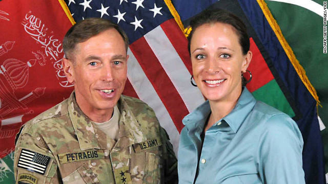 Paula Broadwell, Gen. David Petraeus, affair, scandal