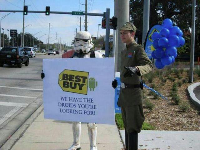Best Buy Star Wars Advertising