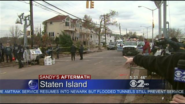 Staten Island Sandy Aftermath