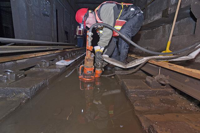 NYC Flooded Subways 6