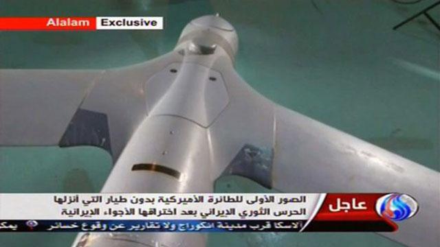 iran captures american drone