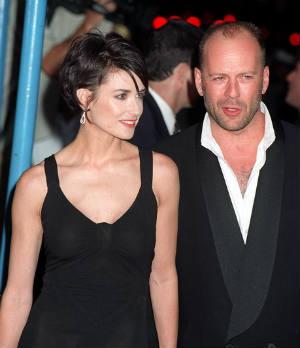 Demi Moore, Ashton Kutcher, Bruce Willis, Divorce