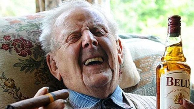 drunken grandpa