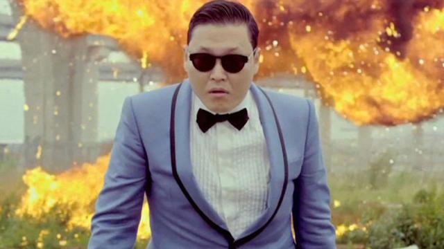 Gangnam Style one billion views