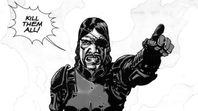 The Walking Dead, mid-season finale, governor