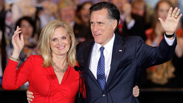 Mitt Romney, Ann Romney, Presidential Election