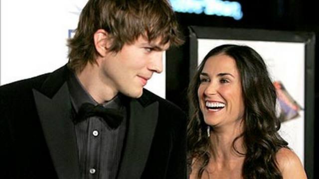 Ashton Kutcher, Demi Moore, Divorce